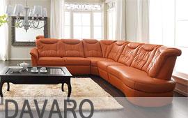 Meble GALA wypoczynkowe narożnik, sofa 3F, sofa 2F, fotel, fotel TV Davaro
