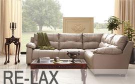 Meble GALA wypoczynkowe narożnik, sofa 3F, sofa 2, fotel, fotel TV Re-Lax