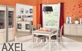 Meble Bog-Fran jadalnia biurko, szafa, komoda, regał, szafka, półka SYSTEM AXEL