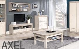 Meble Bog-Fran salon biurko, szafa, komoda, regał, szafka, półka SYSTEM AXEL