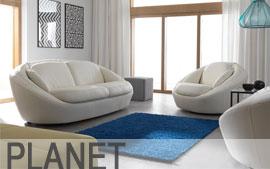 Meble GALA wypoczynkowe sofa 3F, fotel