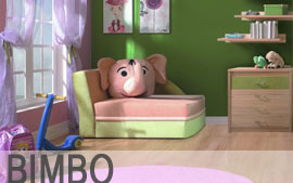 Meble Bog-Fran wypoczynkowe fotel BIMBO