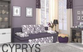 Meble Bog-Fran wypoczynkowe kanapa 3DL CYPRYS
