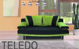 Meble Bog-Fran wypoczynkowe kanapa 3DL TOLEDO