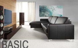 Meble ETAP SOFA wypoczynkowe narożnik, Sofa 3, sofa 2, fotel , Basic