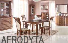 Meble MEBIN stoły, krzesła stół, stół okrągły, stół duży, stolik, krzesła AFRODYTA