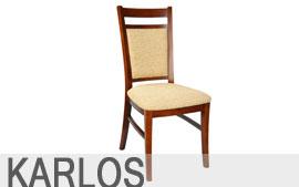 Meble Meblomix stół krzesło Karlos
