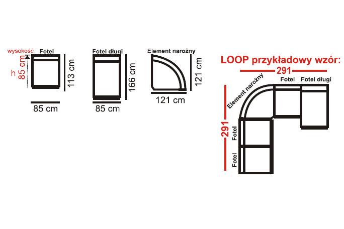 narożnik loop aek design najlepsze ceny w polsce